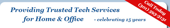 Trusted Tech Services for Home and Office celebrating 10 years